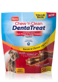 HartzR Chewn Clean DentaTreatTM For Small Dogs 56ct