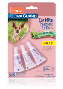 Hartz UltraGuard Earmite Treatment for Dogs