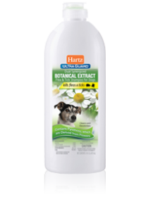 Hartz UltraGuard Dual Synergized Botanical Extract Flea & Tick Shampoo for Dogs
