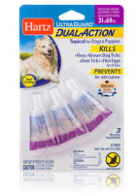 Hartz UltraGuard Dual Action Topical for Dogs and Puppies