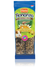 Hartz Bonanza Guinea Pig Treat Sticks Honey Vanilla Flavor