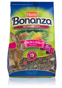 Hartz Bonanza® Pet Rabbit Diet