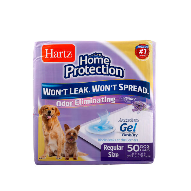 A pack of 50 lavender scented pads for dogs, Hartz SKU 3270014838