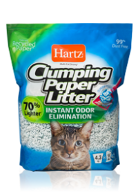 Hartz Multi Cat Strong Clumping Paper Cat Litter