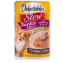 Lickable treat for senior cats, with chicken and tuna, Hartz SKU 32370011055