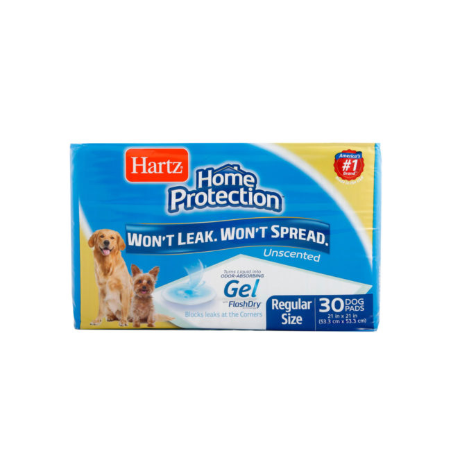 30 unscented training pads for regular size dogs, Hartz SKU 3270004158