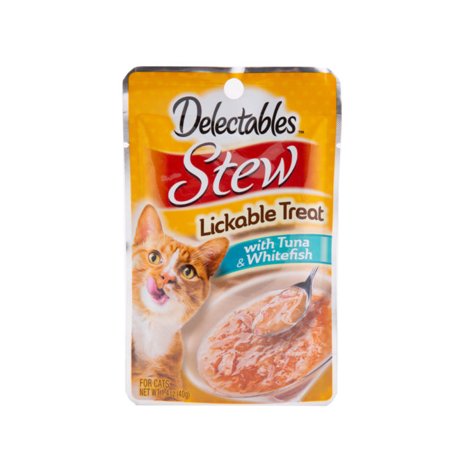 Lickable treat with tuna and whitefish, for cats, Hartz SKU 3270011054