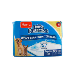 100 unscented training pads for regular size dogs, Hartz SKU 3270014938