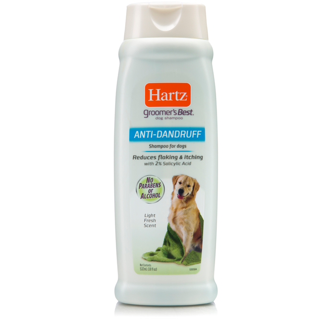 Hartz® GROOMER'S BEST® Anti-Dandruff Shampoo for Dogs