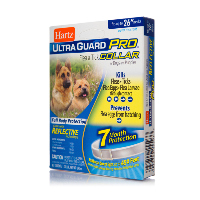 Hartz Ultraguard Pro Flea Tick Collar For Dogs And Puppies Hartz