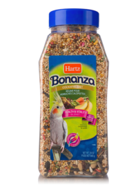 hartz bonanza cockatiel diet, cockatiel food