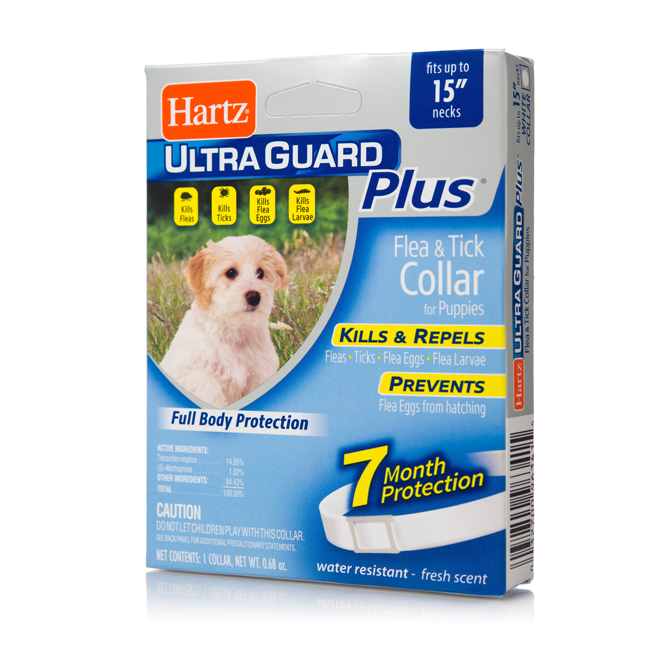 Hartz Ultraguard Plus Flea Tick Collar For Puppies Hartz