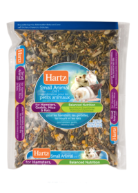 Hartz® small animal diets for hamsters, gerbils, mice and rats. 2lbs. Hartz SKU 3270002950