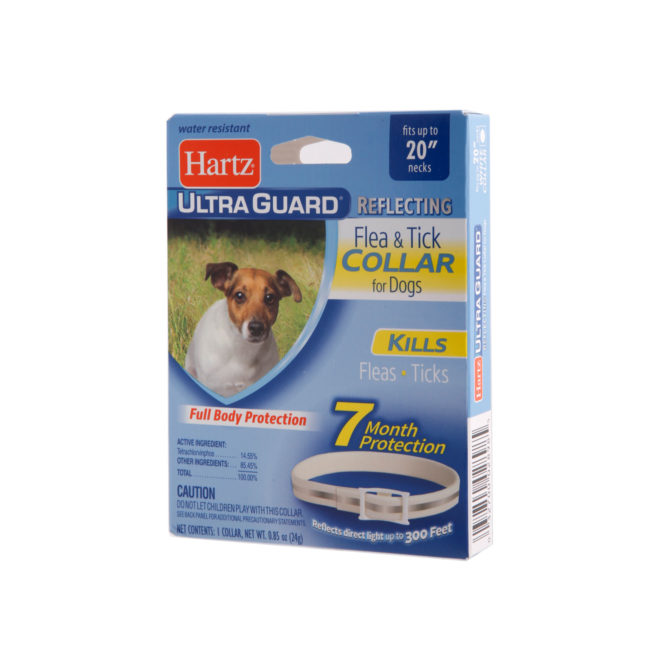 reflecting flea & tick collar, flea tick, parasite control, flea tick collar for dogs
