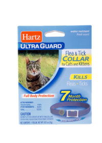 Water resistant flea and tick collar for cats & kittens, Hartz SKU 3270090745