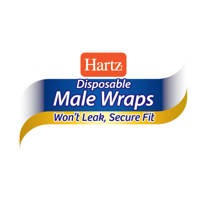 Hartz disposable male wraps video.