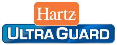 Hartz UltraGuard log. Hartz UltraGuard flea and tick products for dogs, cats and homes.