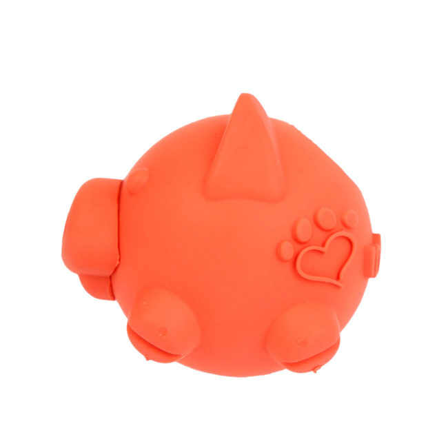 Hartz SKU#3270011228. Hartz tuff stuff treat hogging piglet is one of the dog treat toys in the Hartz line of dog toy products.