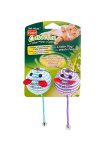 Hartz SKU#3270011232. Hartz toys for cats with silvervine and catnip.