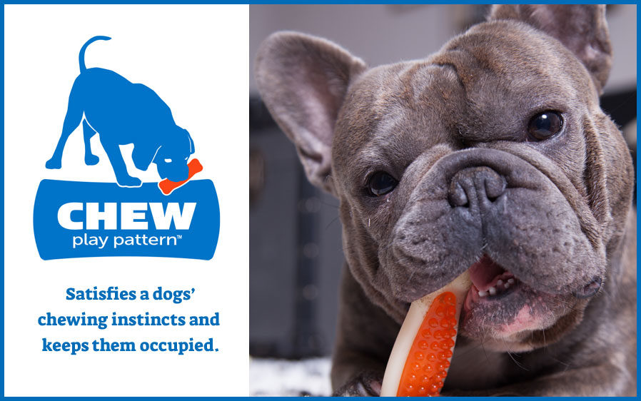Hartz chew n' clean dog toys. Satisfies a dogs' chewing instinct and keep them satisfied.
