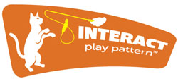 Hartz cat toy play patterns. Interact play pattern