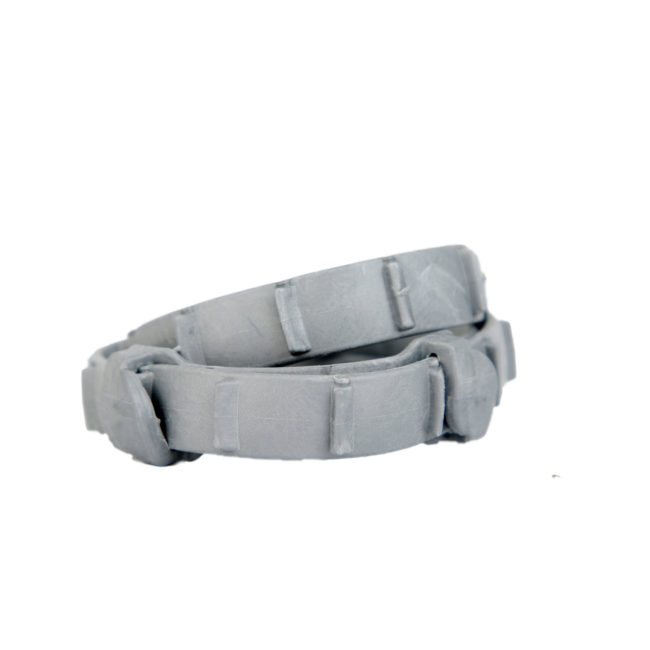 Hartz UltraGuard ProMax Flea & Tick Collar, gray. Outside of package. A flea and tick collar protects your dog from fleas and ticks. Hartz SKU# 3270011357