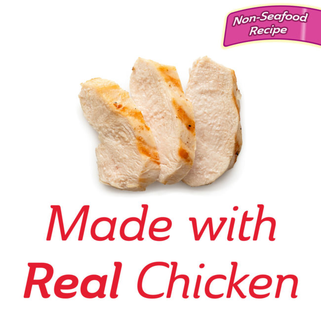 Delectables Lickable Treat with chicken - non-seafood recipe.