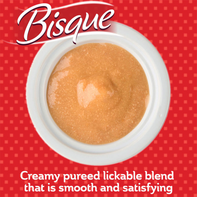 A creamy pureed lickable cat treat blend that is smooth and satisfying.