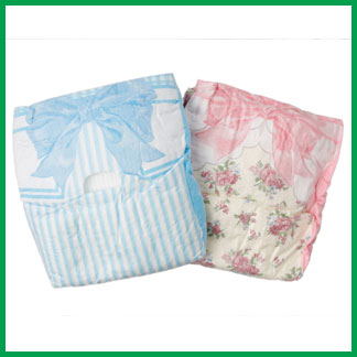 Dog diapers from Hartz have fun designs.